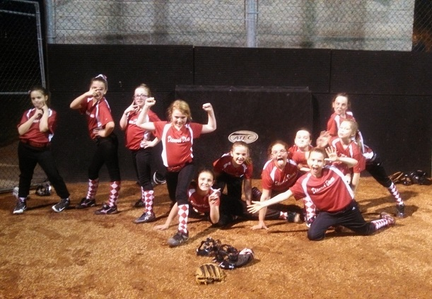 Clarksville National Girls Softball league, the Diamond Divas, 2014